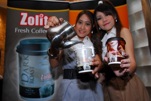 งานแถลงข่าว เปิดตัว Zolito Fresh Coffee Cup 10 พ.ย.2551 Intercontinental Hotek Bangkok