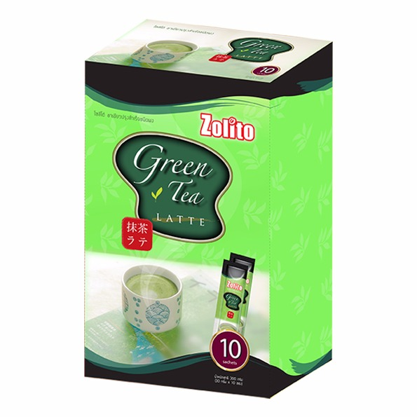 Zolito Green Tea Latte Pack 10