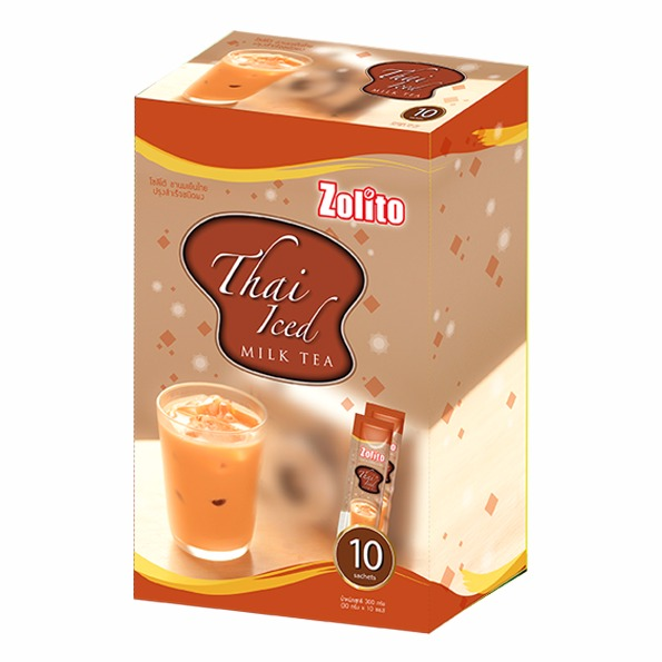 Zolito Thai Iced Milk Tea Pack 10