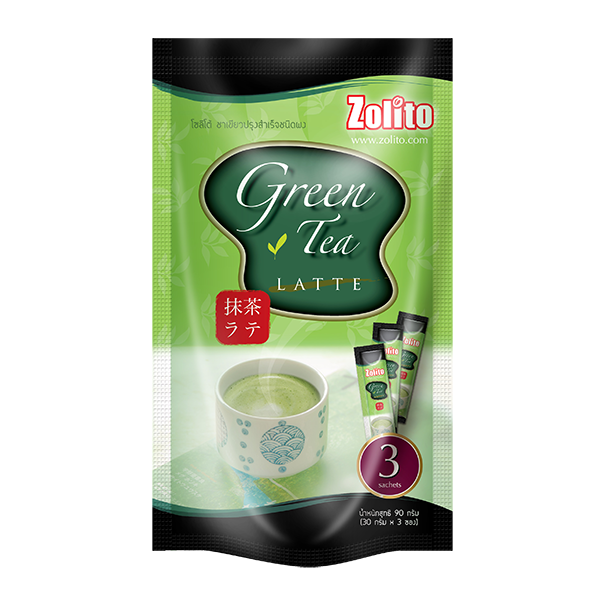 Zolito Green Tea Latte Pack 3