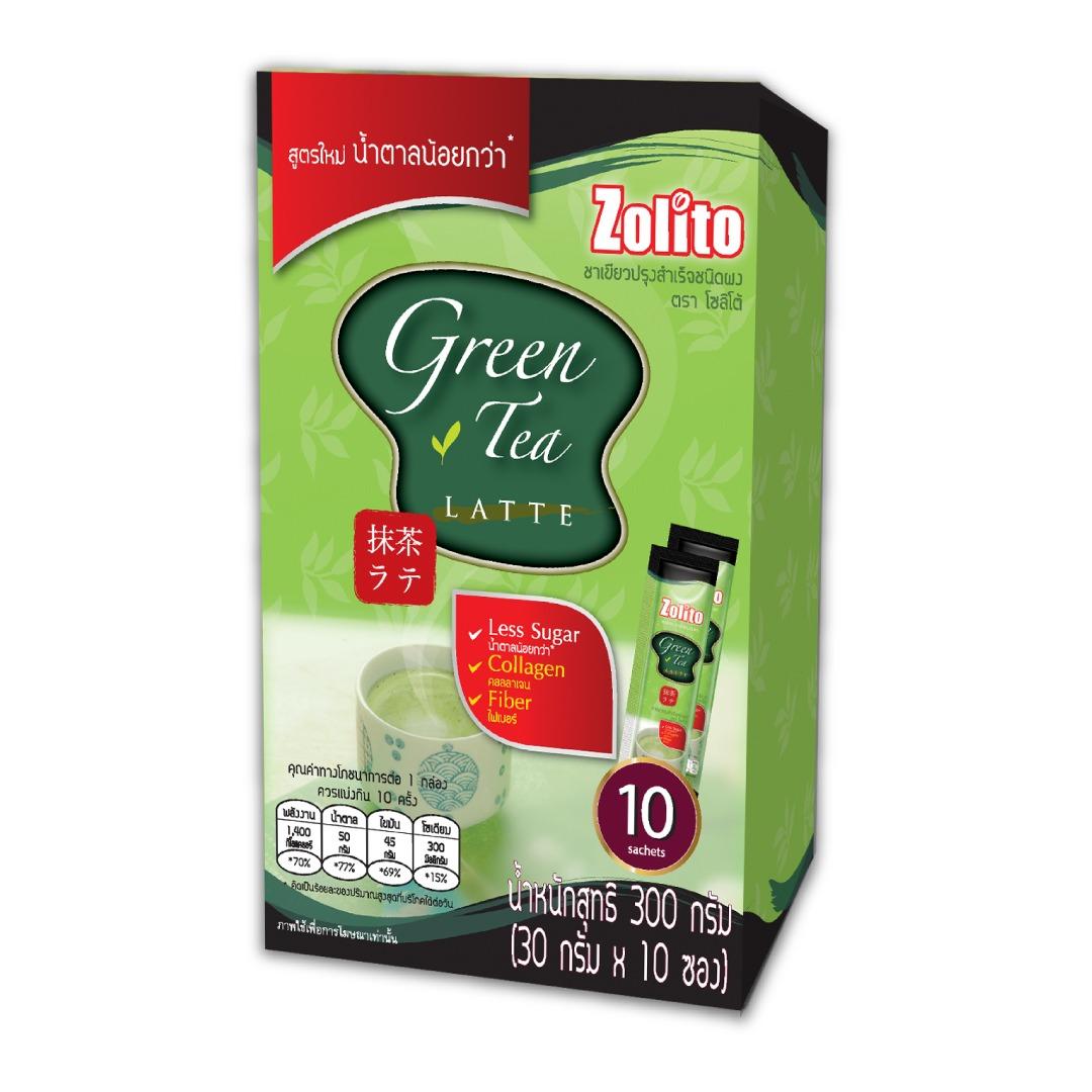 Zolito Green Tea Latte Pack 10