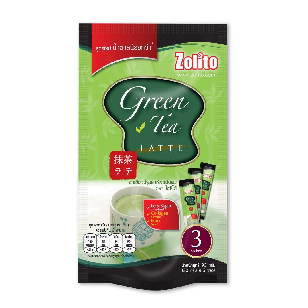 Zolito Green Tea Latte Pack 3