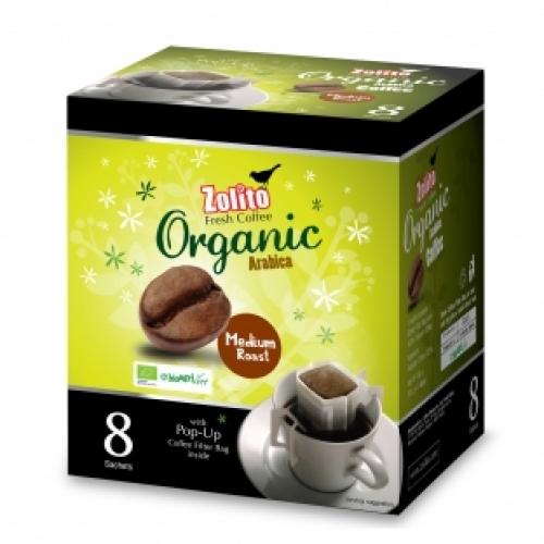 Zolito Organic Coffee Filter Bag Medium Roast