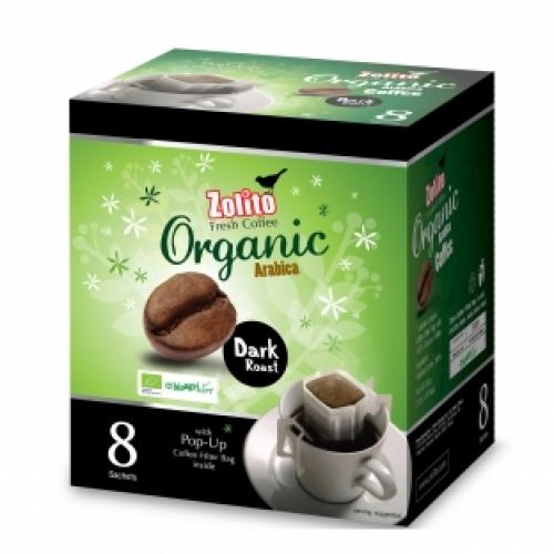 Zolito Organic Coffee Filter Bag Dark Roast