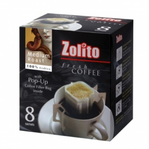 Zolito Fresh Coffee Filter Bag Medium Roast