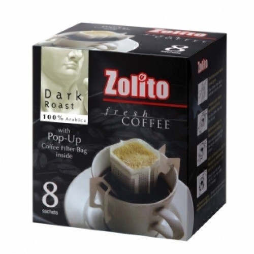 Zolito Fresh Coffee Filter Bag Dark Roast